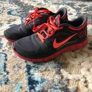 Nike free 3.0 running shoes!